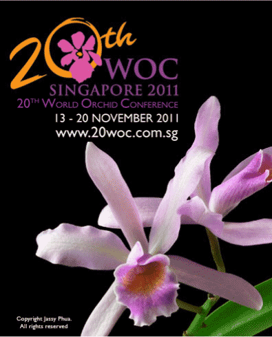 2011 World Orchid Conference Poster